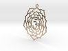 Crown Chakra Necklace 3d printed