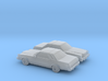 1/160 2X  1975-77 Ford Granada Coupe 3d printed
