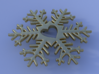 Snow heart 3d printed