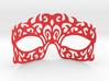 Masquerade mask 3d printed