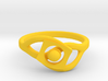 TwoYearsTogether ring 3d printed