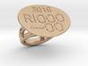 Rio 2016 Ring 18 - Italian Size 18 3d printed