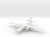 Martin P4M-1 Mercator (landing gear) 6mm 1/285 3d printed