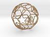 iFTBL Xmas Frozen Stars Ball - Ornament 60mm ' 3d printed
