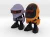 "Daft Punk ""I Love U"" - 50mm 3d printed"
