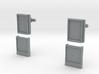 POLAROID MICROS SD CUFFLINKS 3d printed