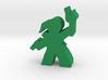 Game Piece, Lady Adventurer, with gun, torch 3d printed