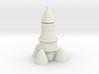 desktop rocket 3d printed