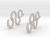 Horseshoe Earring 3d printed