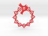 Maliodas The Dragon Sin logo 3d printed