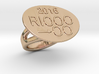 Rio 2016 Ring 24 - Italian Size 24 3d printed