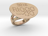 Rio 2016 Ring 30 - Italian Size 30 3d printed