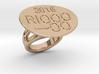 Rio 2016 Ring 31 - Italian Size 31 3d printed