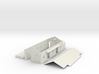 N Scale Axbridge Station Goods Shed 1:148 3d printed