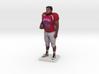 Football Player 3d printed