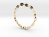 Large Welded Chain Bangle 3d printed