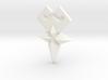 Cosplay Wayfinder Belt Buckle SMALLER:Aqua Ventus 3d printed