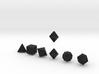 FUTURISTIC innies sharp dice 3d printed