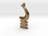 AKOBEN Symbol Jewelry Pendant  3d printed
