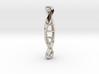 tritium: Dna Supported vial keyfob pendant 3d printed
