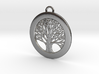 Tree of Life Pendant Small 3d printed