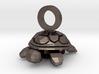 Baby Turtle Pendant 3d printed
