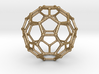 0369 Truncated Icosahedron V&E (a=1cm) #002 3d printed