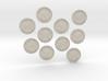 TEN Coins of Acheron 3d printed