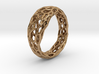 Voronoi ring 1.6cm(interior) 3d printed