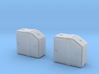 Tyrrell003 Fluid Tank, 1/12 scale - 2 pieces 3d printed