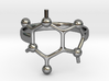Caffeine Molecule ring - size 6 3d printed