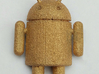 Android Guy Button 3d printed