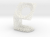 LG SmartWatch  Voronoi Desktopstand 3d printed