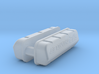 1/43 BBC 572 Logo Valve Covers 3d printed