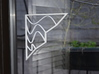 Architectural Screen - Town and Waves 3d printed Easily attach the screen onto window with double sided scotch tape (heavy duty).