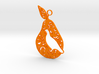 12 Days of Christmas Ornament Partridge in a Pear  3d printed