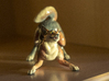 Playful Wolf 3d printed