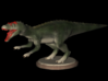 Dinosaurs World Allosaurus Full Color 3d printed