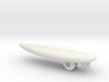 Surfboard Christmas Tree Ornament - Shortboard 3d printed