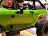 Axial SCX10 Body Accessories (70s Bronco Style) 3d printed Painted Flat Black- Mirrors sold separately
