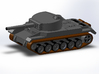 Porsche VK3001P Medium Tank Z-Scale 1/220 3d printed