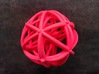 A4 3d printed snapshot of the hot pink