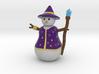 Snowman Sorcerer 3d printed