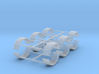 1/64th Single tire fender set of six 3d printed