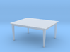 Table HO Scale 3d printed