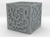 Maze cube 3d printed