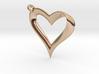 Mobius Heart Pendant 3d printed