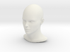 1/6 SCALE FEMALE HEAD FIGURE  3d printed