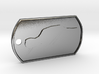 Jeremy Clarkson Silhouette Dog Tag 3d printed