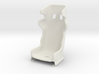 1/6 Scale Racing Seat 3d printed Details in bottom view